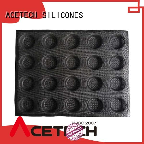 ACETECH good quality silicone dessert mould directly price for bread