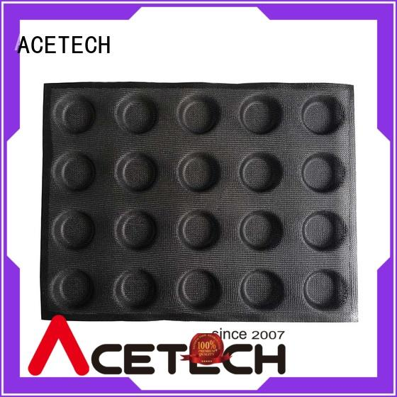 ACETECH good quality silicone dessert molds for cooking