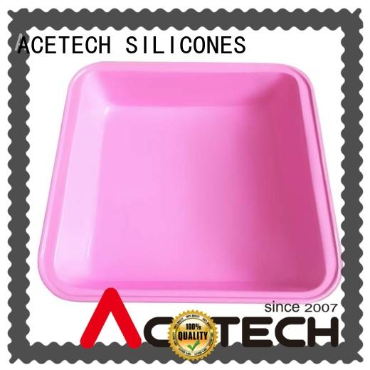 ACETECH custom silicone baking pans online for bread