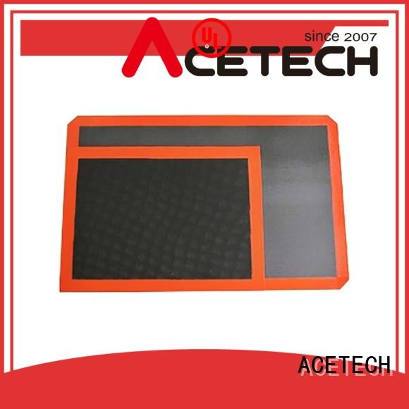 ACETECH food safe custom silicone mats factory price for cooking
