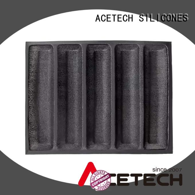 ACETECH square silicone baking molds shapes for cakes