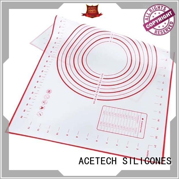 ACETECH cookie silicone pastry mat factory price for cooking