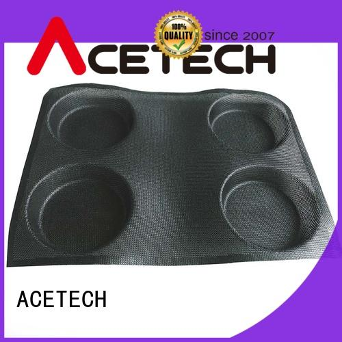 ACETECH good quality silicone cookie molds promotion for muffin