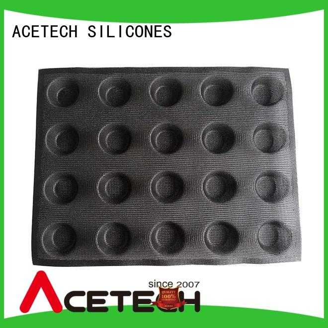 ACETECH square silicone cookie molds manufacturer for cakes