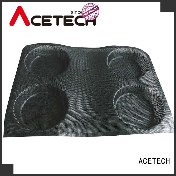 ACETECH good quality silicone pastry molds for muffin