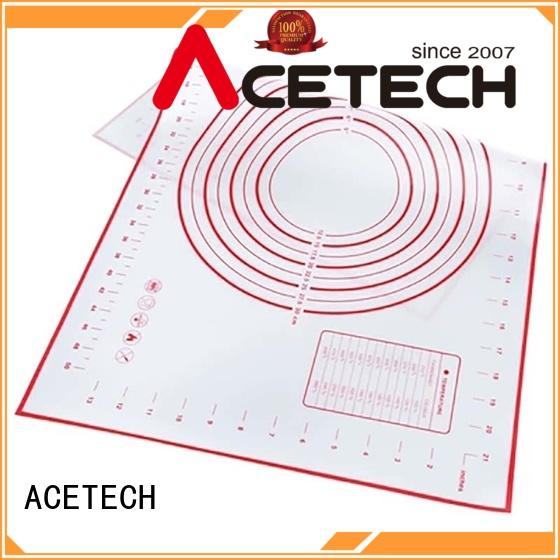 ACETECH kithchen custom silicone mats easy to clean for macarons
