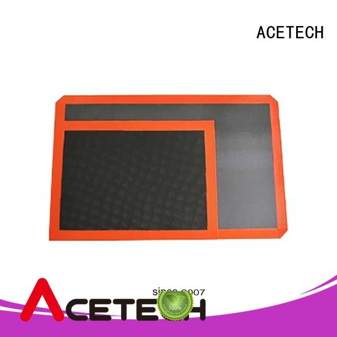 perforated silicone pastry mat easy to clean for cooking ACETECH