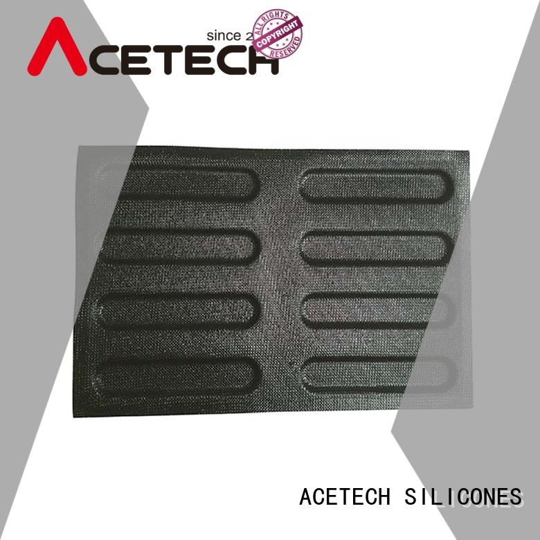 silicone dessert molds eclair for muffin ACETECH