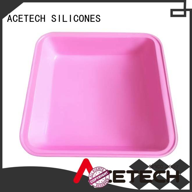 ACETECH no stick silicone baking pans online for cake