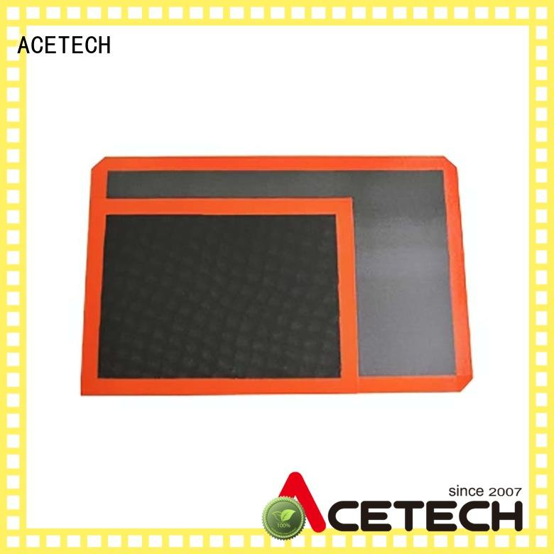 ACETECH soft non stick silicone baking mat easy to clean for cooking