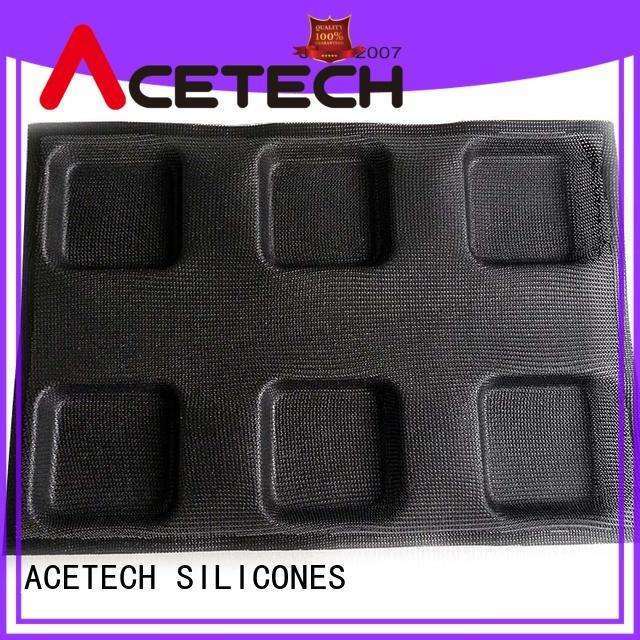 ACETECH durable silicone cookie molds directly price for cakes