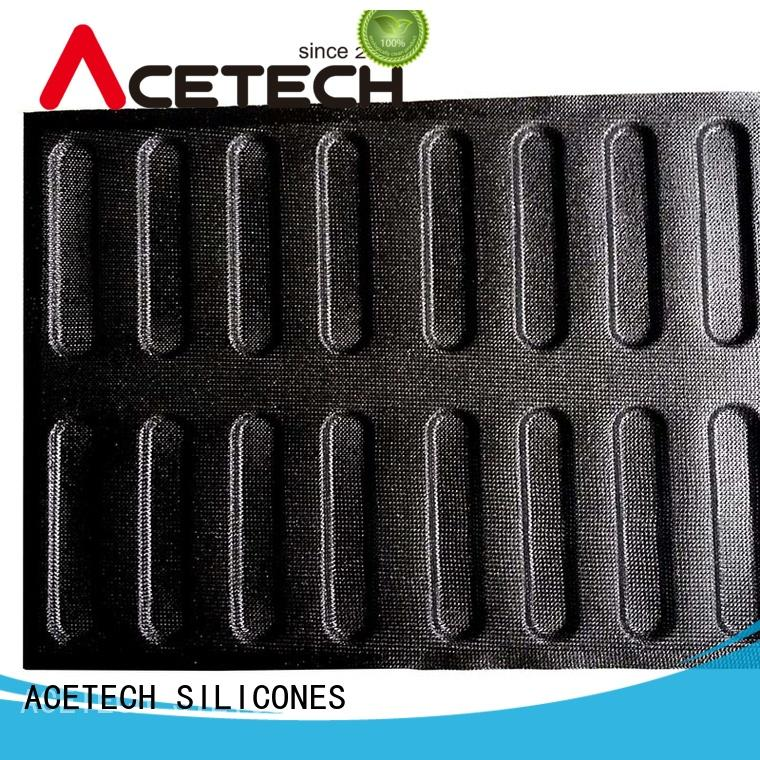 ACETECH durable round silicone cake mold tools for bread