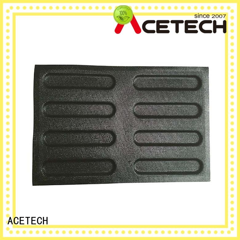 ACETECH good quality custom silicone baking molds promotion for cakes