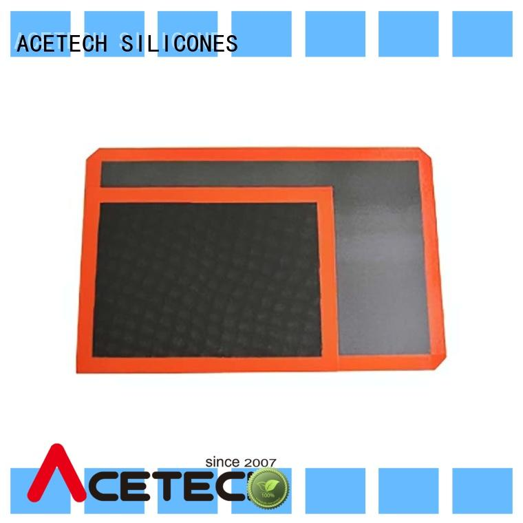 ACETECH thin non stick silicone baking mat supplier for cookie