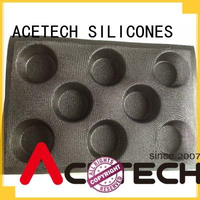 direct customized silicone baking molds form eclair ACETECH company