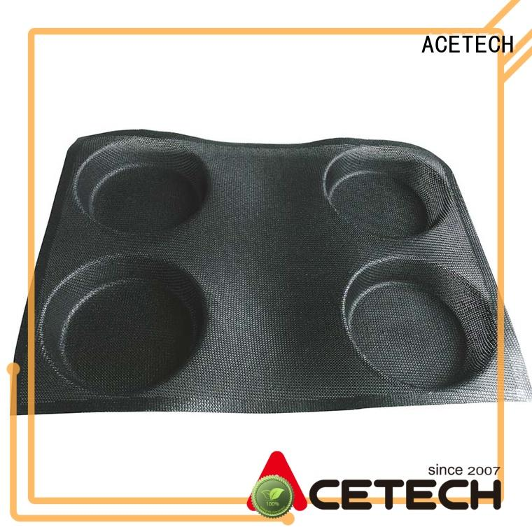 ACETECH healthy silicone baking molds shapes for muffin
