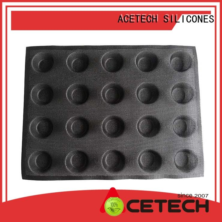ACETECH mini silicone cookie molds wholesale for muffin