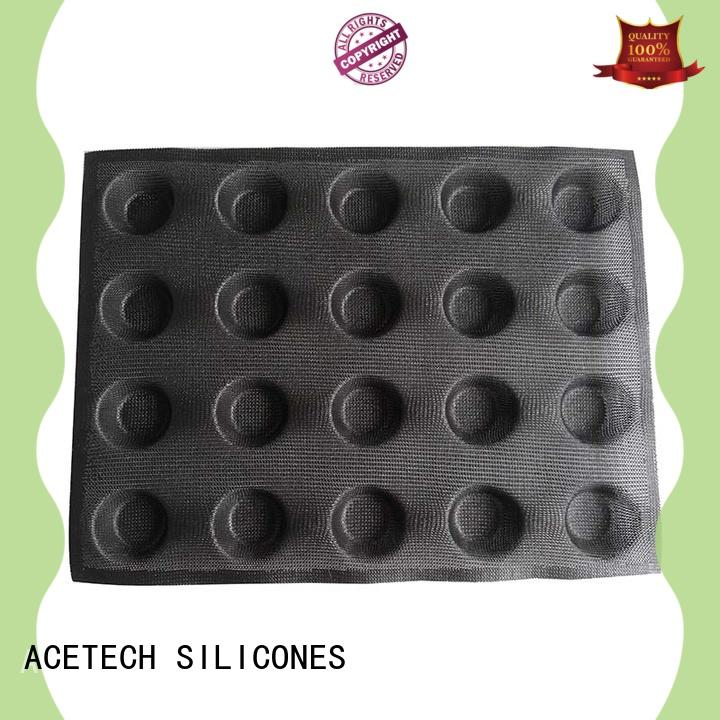 ACETECH 3d custom silicone baking molds wholesale for cooking