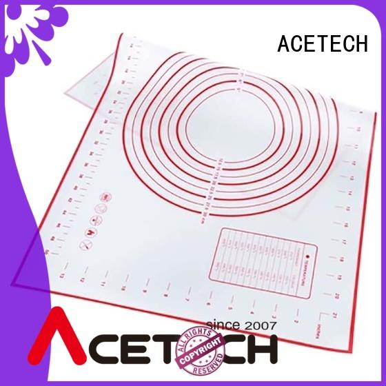 ACETECH silicone silicone pastry mat factory price for bread