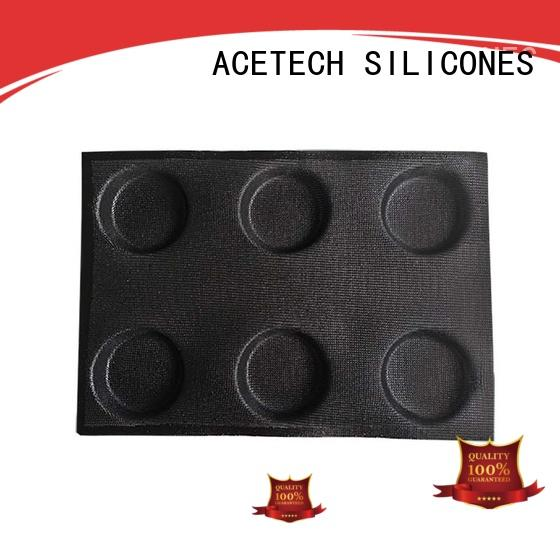 ACETECH Brand cup sizesmuffin microwave custom square silicone baking molds