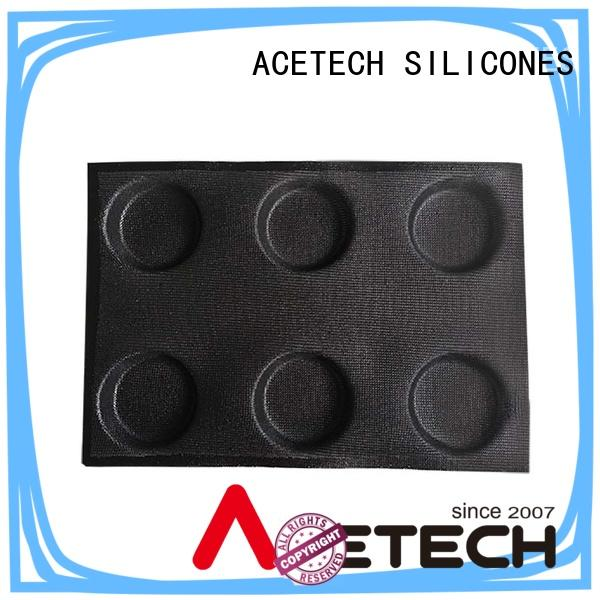 ACETECH bpa silicone cupcake molds wholesale for muffin