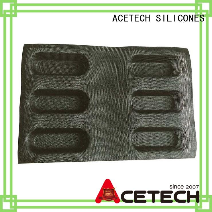 ACETECH square silicone cookie molds wholesale for cooking
