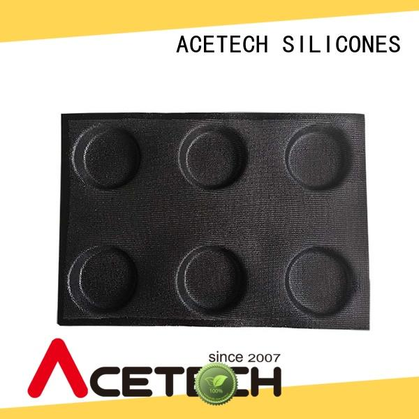 ACETECH size silicone cupcake molds wholesale for muffin