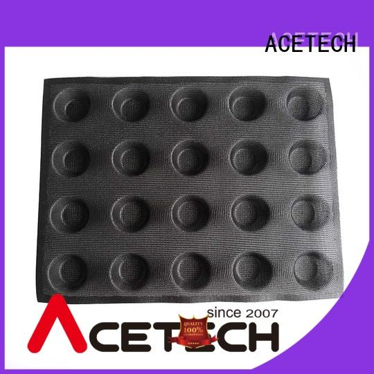 ACETECH silicon silicone dessert molds promotion for muffin