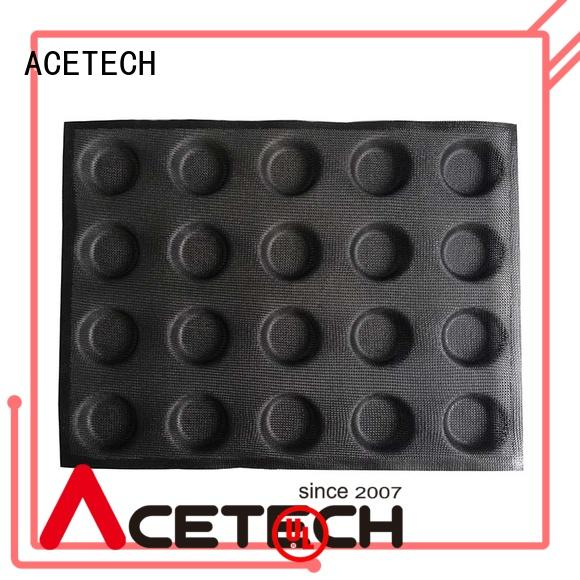 ACETECH durable custom silicone baking molds manufacturer for cooking
