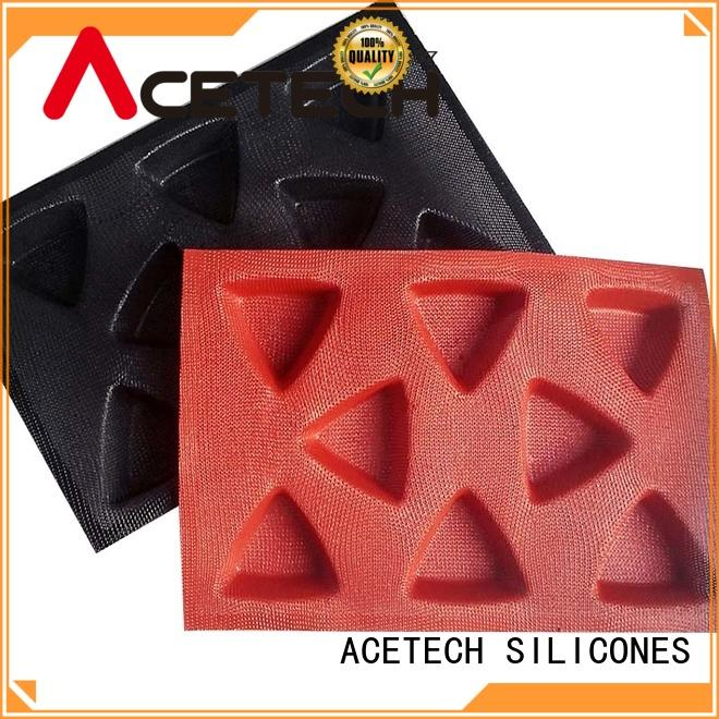 ACETECH healthy silicone baking molds shapes manufacturer for cooking