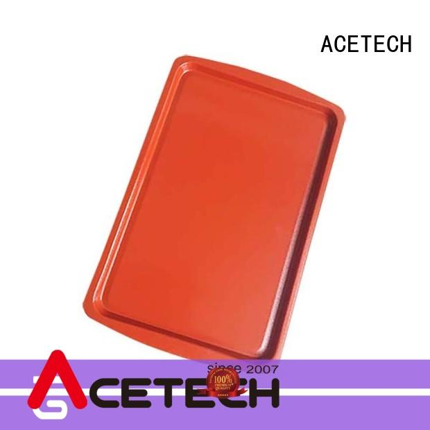 ACETECH no stick silicone baking tray easy to clean for bread