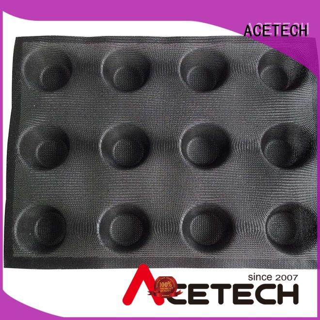 ACETECH sizesmuffin silicone baking molds shapes for cakes
