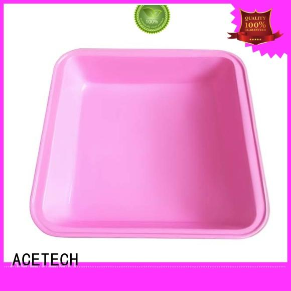 Custom square shape cake baking pan silicone surface