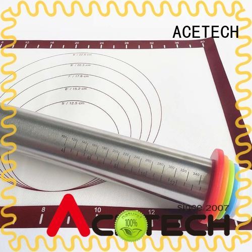 ACETECH adjustable rolling pin adjustable for dumpling wrapper