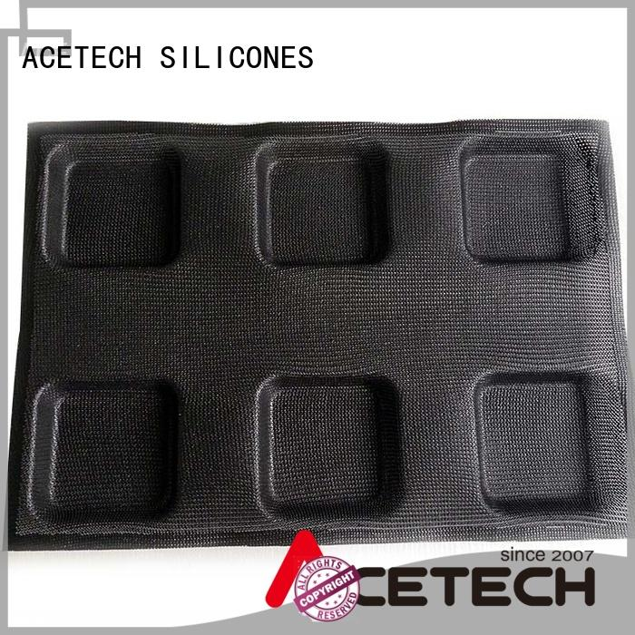 ACETECH 32 silicon bread mold manufacturer for muffin