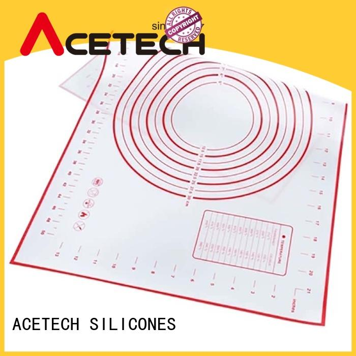 ACETECH baking silicone baking mat easy to clean for macarons