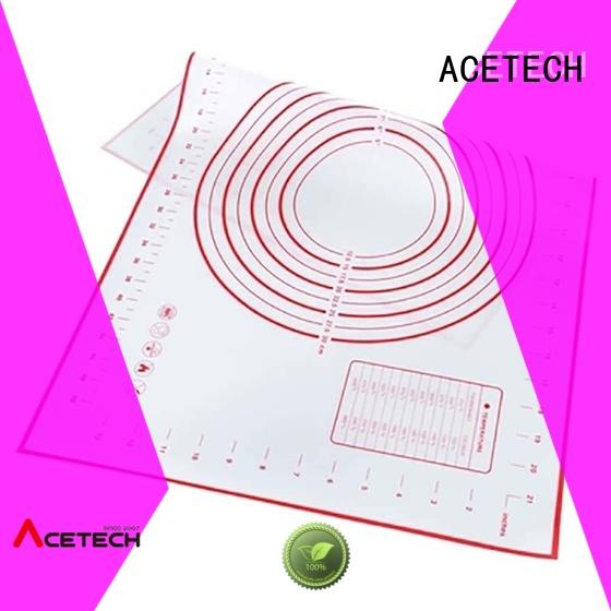 ACETECH eco-friendly silicone macaron baking mat easy to clean for macarons
