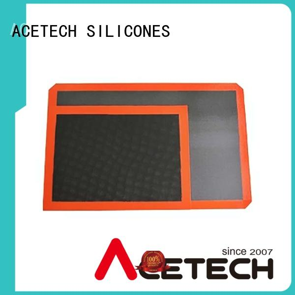 ACETECH soft custom silicone mats supplier for macarons