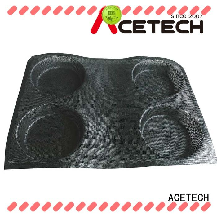 ACETECH good quality silicone baking molds shapes directly price for bread