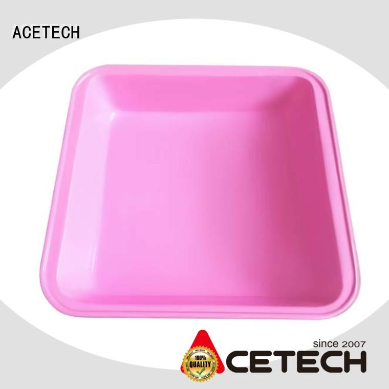 ACETECH coated silicone baking tray easy to clean for cookie