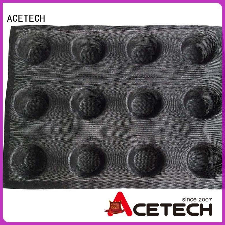 bread thumb baking ACETECH Brand silicone baking molds