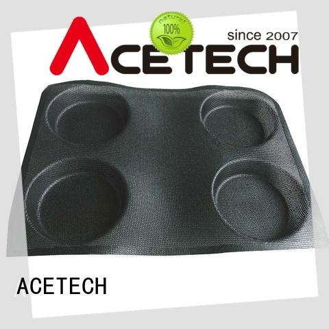 ACETECH shape silicone baking molds shapes wholesale for muffin