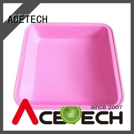 ACETECH no stick square silicone baking pan easy to clean for bread