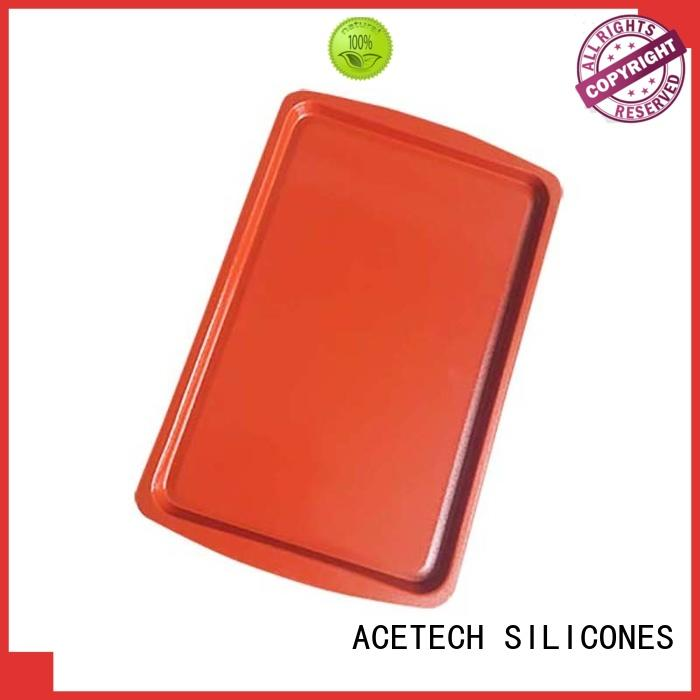 ACETECH no stick silicone baking pans pan for cookie