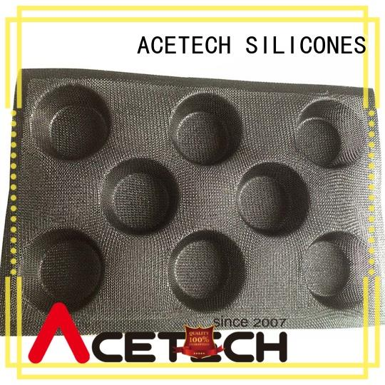 ACETECH puff silicone bakeware molds promotion for cooking