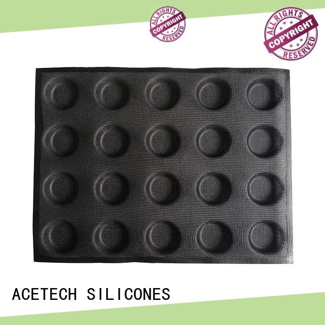 ACETECH Brand triangle cavity square silicone baking molds