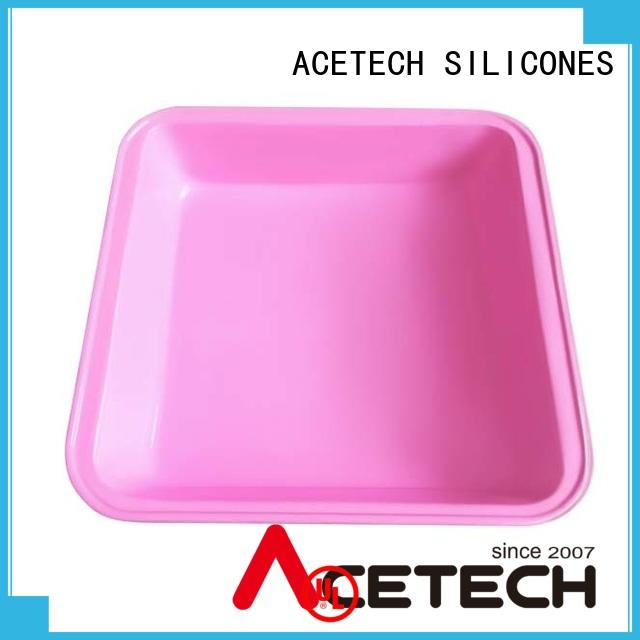 custom silicone baking pans square supplier for cake