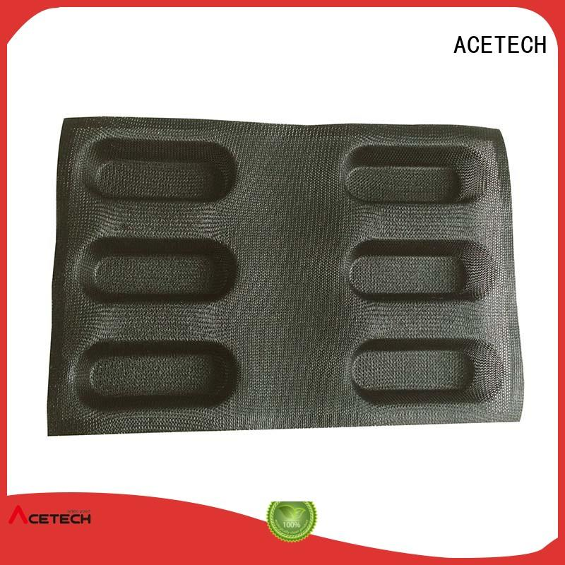 form cavity square silicone baking molds ACETECH Brand
