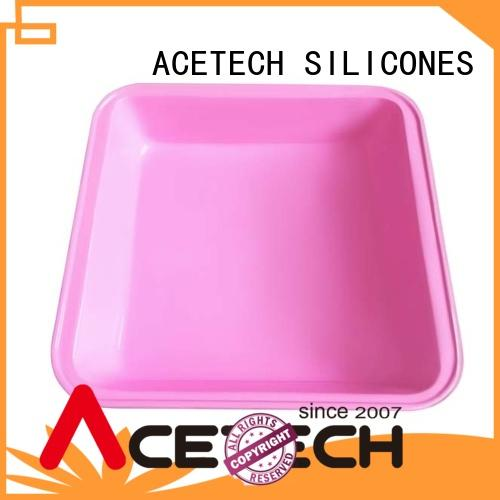 high quality silicone baking pans surface easy to clean for cookie