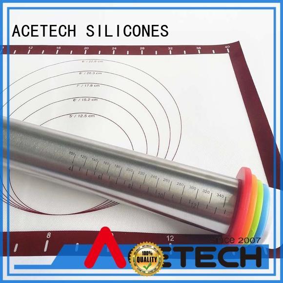ACETECH removable steel rolling pin promotion for dumpling wrapper